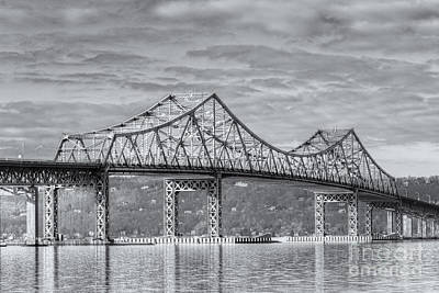 Tappan Zee Bridge Iv Poster by Clarence Holmes