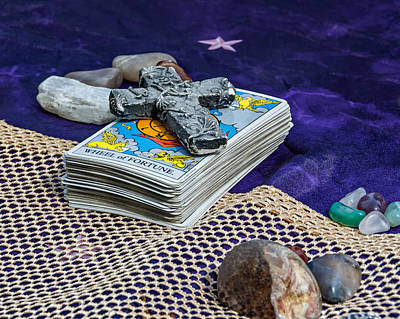 Tarot Deck - Your Future Awaits  Poster by Steve Harrington