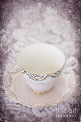 Tea Cup Poster by Svetlana Sewell