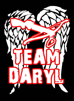 Team Daryl Poster by Jera Sky