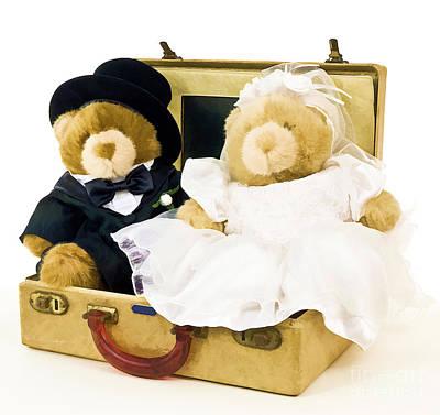Teddy Bear Honeymoon Poster by Edward Fielding