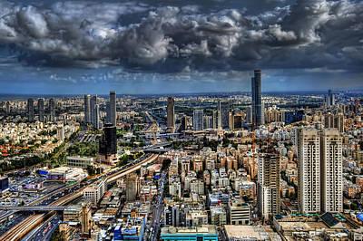 Tel Aviv Love Poster by Ronsho