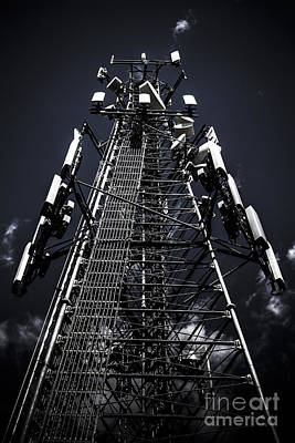 Telecommunications Tower Poster by Jorgo Photography - Wall Art Gallery