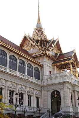 Temple Of The Emerald Buddha - Grand Palace In Bangkok Thailand - 011314 Poster by DC Photographer