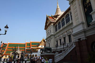 Temple Of The Emerald Buddha - Grand Palace In Bangkok Thailand - 011316 Poster by DC Photographer