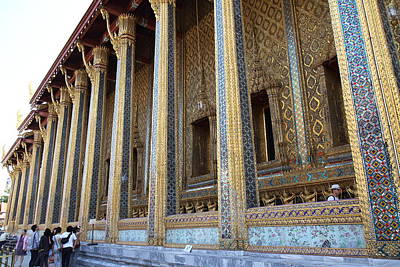 Temple Of The Emerald Buddha - Grand Palace In Bangkok Thailand - 01133 Poster by DC Photographer