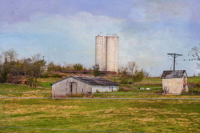 Tennessee Country Farm Poster by Mary Timman