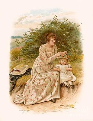 Tennyson S Dora Poster by George Goodwin Kilburne