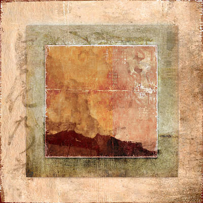Terracotta Earth Tones Poster by Carol Leigh