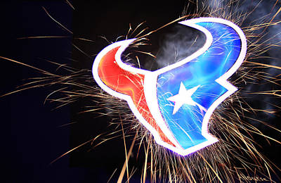 Texans Poster by Andrew Nourse