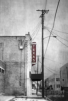 Texas Poster by Elena Nosyreva