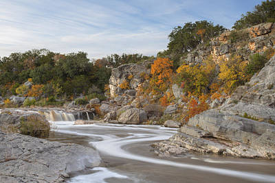 Texas Hill Country Colors 1 Poster by Rob Greebon