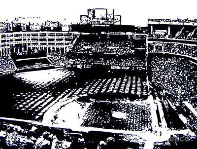 Texas Rangers Ballpark Poster by Rob Monte