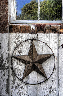 Texas Star Poster by Daniel Hagerman