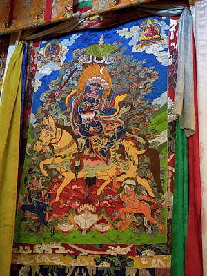 Thanka In Second Floor Temple Poster by Panoramic Images