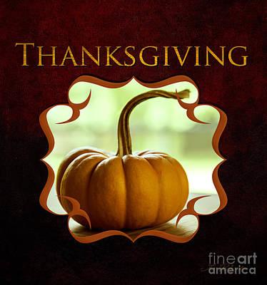 Thanksgiving Gallery Poster by Iris Richardson