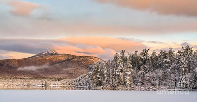 Thanksgiving Sunrise On Mt Chocorua Poster by Scott Thorp