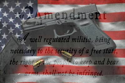 The 2nd Amendment Poster by Dan Sproul