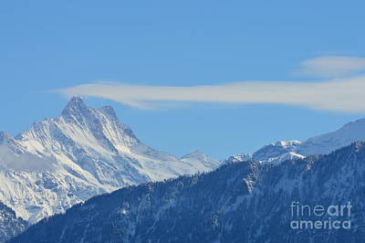 The Alps In Azure Poster by Felicia Tica