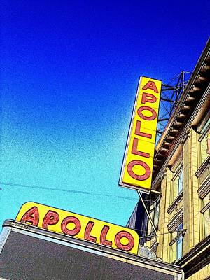 The Apollo Poster by Gilda Parente