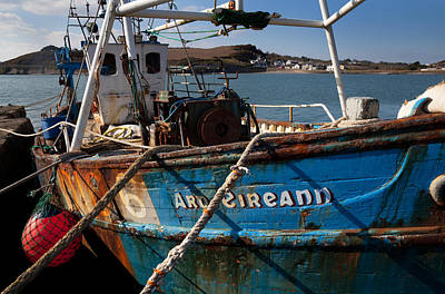 The Ard Eireann Fishing Boat Poster by Panoramic Images