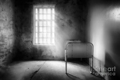 The Asylum Project - Empty Bed Poster by Erik Brede