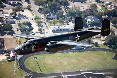 The B-25 Mitchell Medium Bomber Poster by Mountain Dreams