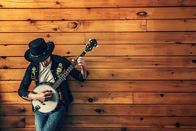 The Banjo Picker Poster by Mountain Dreams