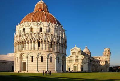The Baptistery, Duomo Santa Maria Poster by Brian Jannsen