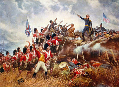 The Battle Of New Orleans Poster by Percy Moran
