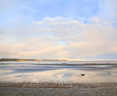 The Beach At Tofino Poster by Theresa Tahara