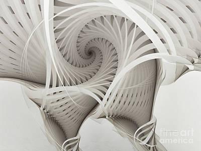 The Beauty Of Math-fractal Art Poster by Karin Kuhlmann