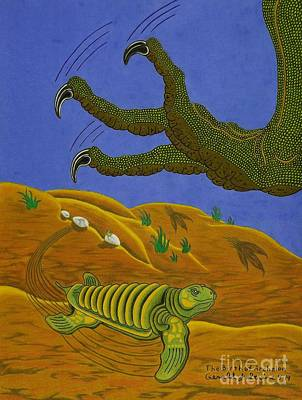 The Birth Of Archelon Poster by Gerald Strine