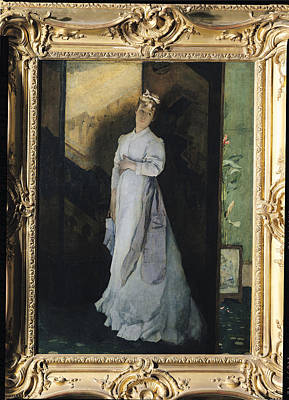 The Break-up Letter, C.1867 Oil On Canvas Poster by Alfred Emile Stevens