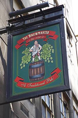 The Brewmaster Pub Poster by Cheri Randolph