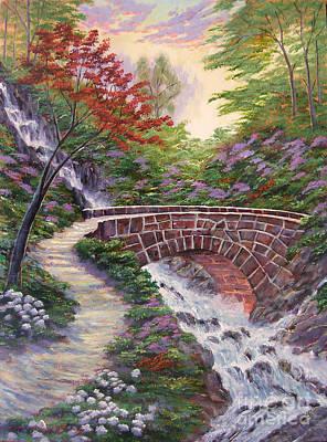 The Bridge Across Poster by David Lloyd Glover
