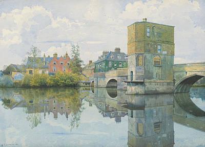 The Bridge At Saint Ives Poster by William Fraser Garden