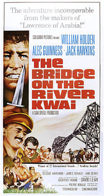The Bridge On The River Kwai, Us Poster Poster by Everett