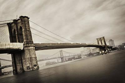 The Brooklyn Bridge Poster by Eli Katz