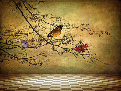 The Butterfly Room Poster by Jessica Jenney