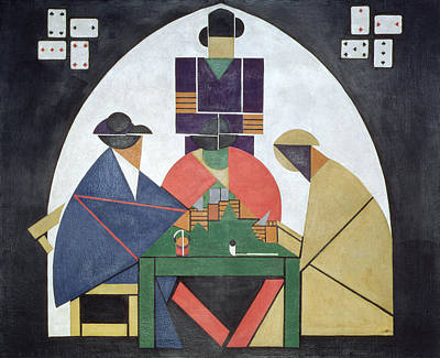 The Card Players, 191617 Poster by Theo van Doesburg