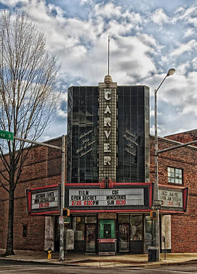 The Carver Theatre In Birmingham Alabama Poster by Mountain Dreams