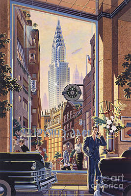 The Chrysler Poster by Michael Young