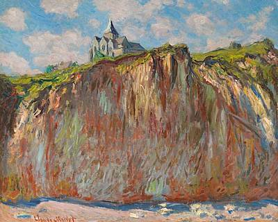 The Church At Varengeville Poster by Claude Monet