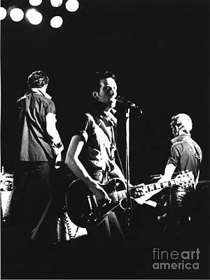 The Clash 1979 Poster by Joyce Weir