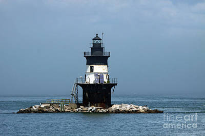 The Coffee Pot Lighthouse Poster by Christiane Schulze Art And Photography