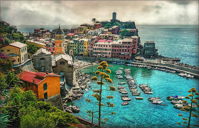 The Colors Of Italy Poster by Hanny Heim