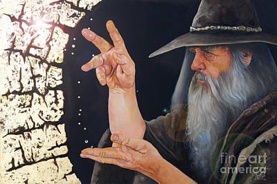 The Conjurer Poster by J W Baker