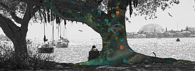 The Conscious Tree Poster by Betsy Knapp