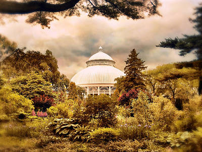 The Conservatory Poster by Jessica Jenney